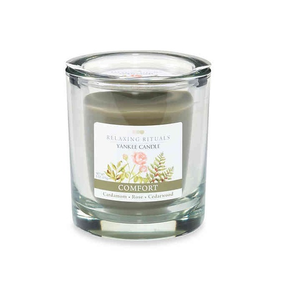 [3 for $30] Yankee Candle Rose Relaxing Candle